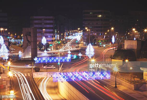 christmas in vigo - ビーゴ市 ストックフォトと画像