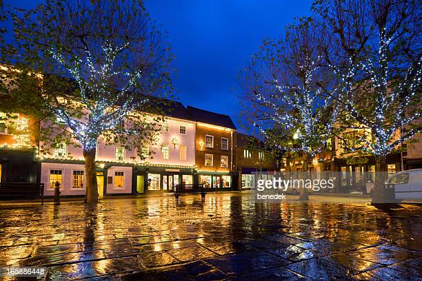 christmas in york england uk north yorkshire - york stock photos and pictures