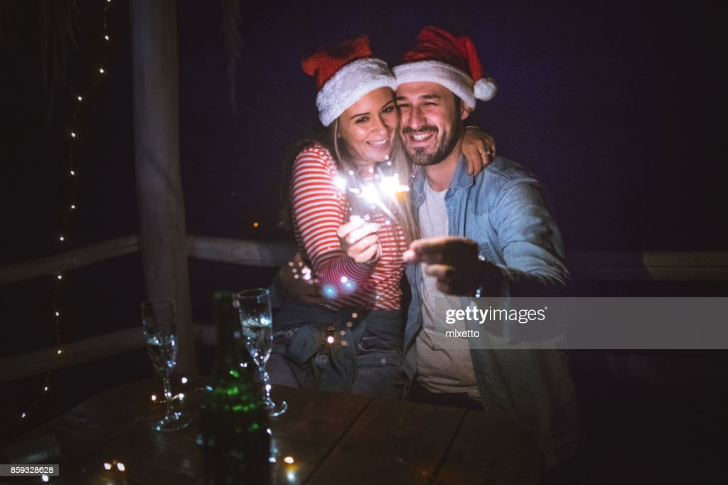 Christmas is time for love : Stock Photo