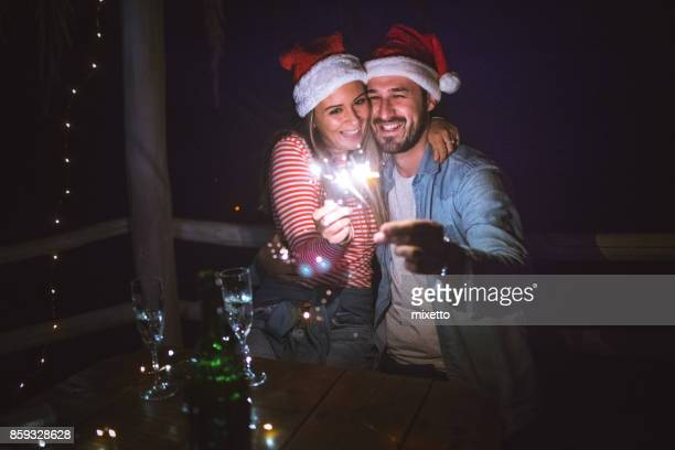 christmas is time for love - happy new month stock photos and pictures