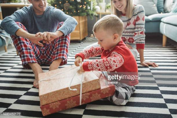 christmas is time for presents - gift stock pictures, royalty-free photos & images