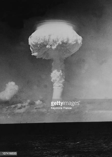 Christmas Island, First British H Bomb Test In Pacific Ocean On May 15Th 1957