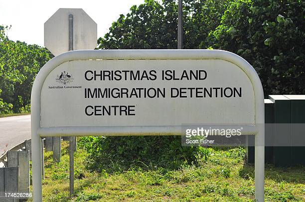 Christmas Island Immigration Detention Centre Entry on July 26 2013 on Christmas Island The Australian government has announced that all asylum...