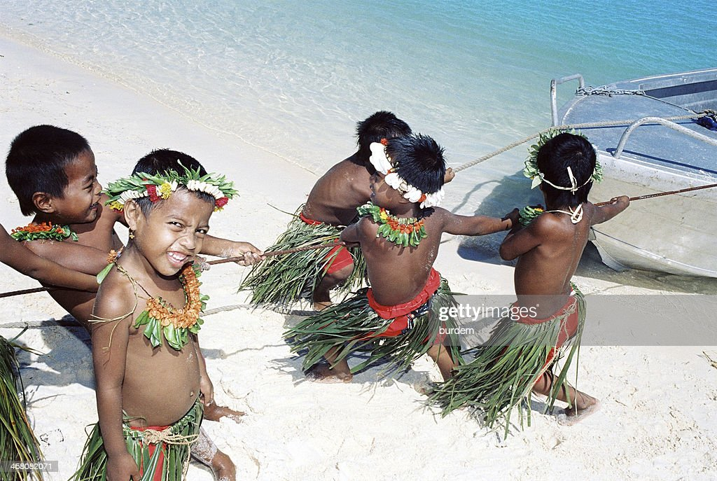 Christmas Island, Kiribati : Stock Photo