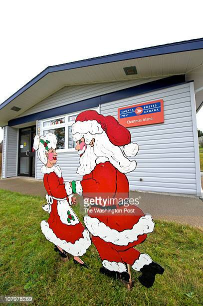 Christmas Island post office in Cape Breton Nova Scotia