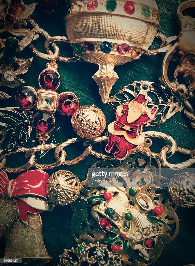 Christmas Jewelry : Stock Photo