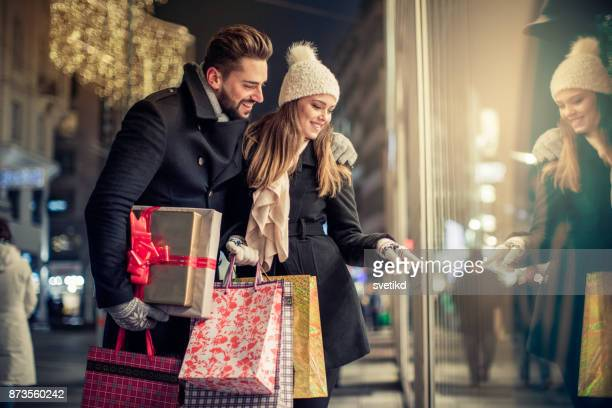 クリスマス ショッピングの喜び