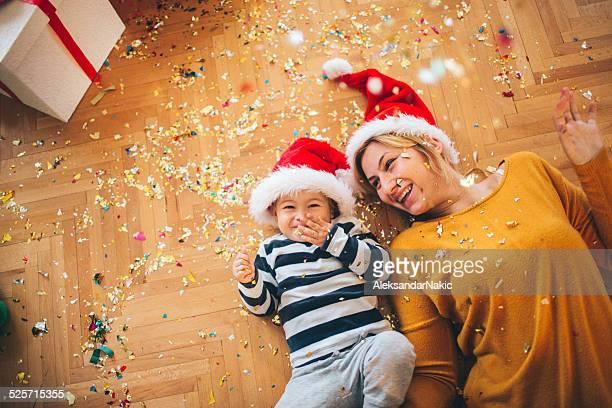 christmas joy - peuter stockfoto's en -beelden