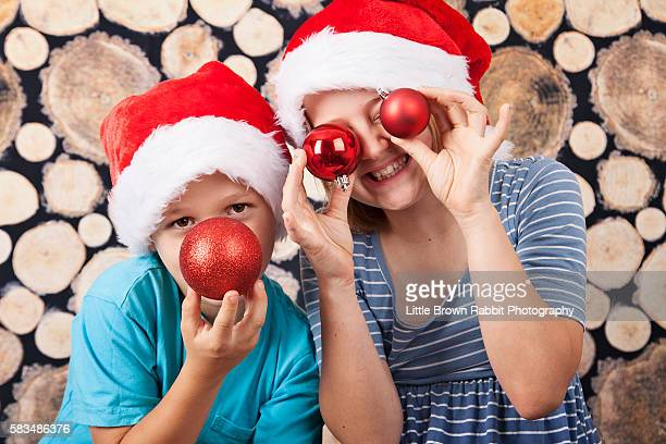 Christmas Kids Fooling About