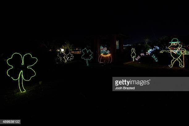 Christmas light display at Celebration in the Oaks at City Park on December 3, 2014 in New Orleans, Louisiana.