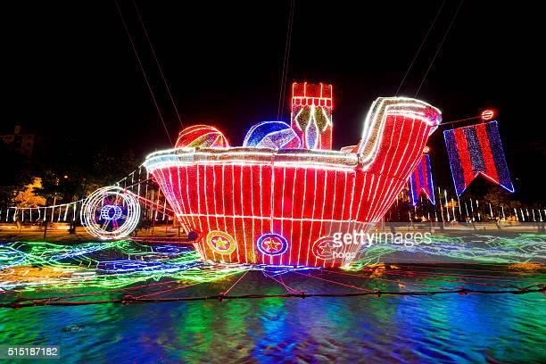 クリスマスライトショーメデリン,コロンビア - コロンビア メデジン ストックフォトと画像
