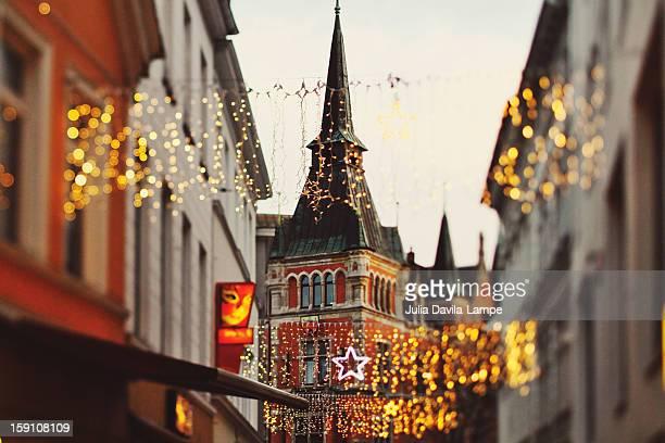 Christmas lighting in Oldenburg