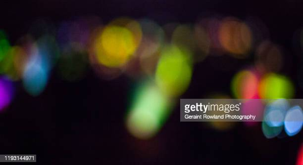christmas lights abstract - world championship stock pictures, royalty-free photos & images