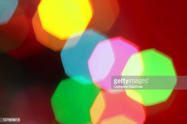 christmas lights bokeh - catherine macbride stock pictures, royalty-free photos & images