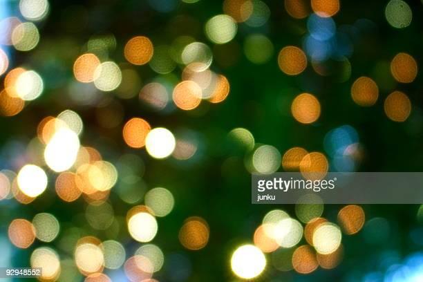Christmas lights bokhe