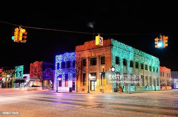 Christmas Lights in Rochester Michigan