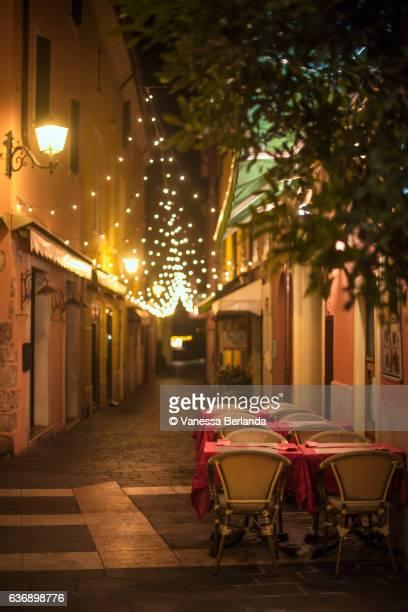 Christmas lights - Lago di Garda