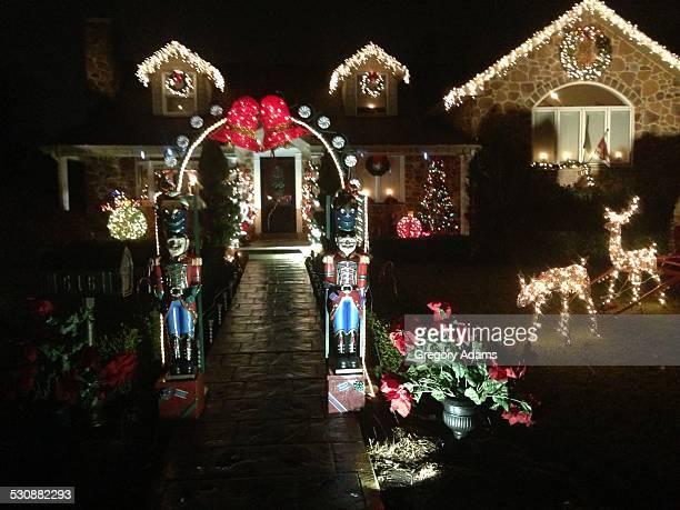Christmas Lights Montgomery County Pennsylvania USA