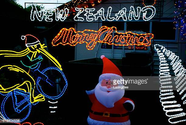 Christmas Lights, New Zealand