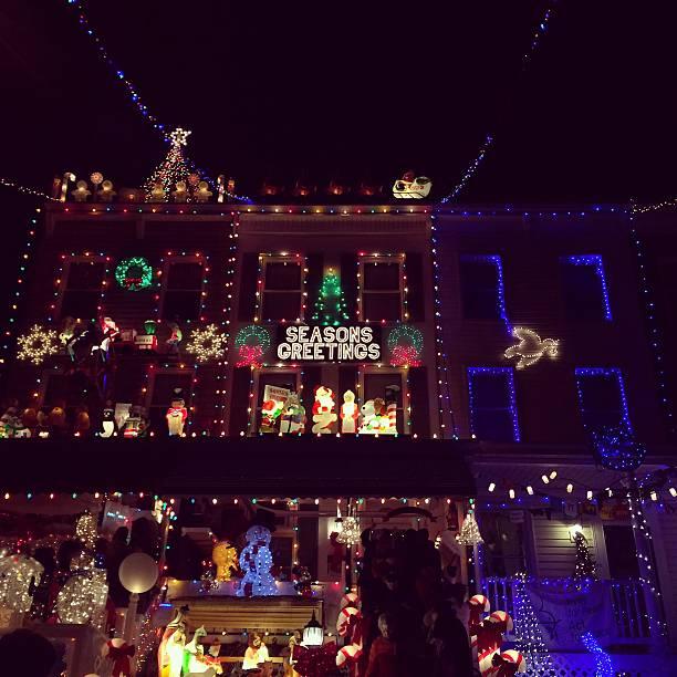 christmas lighting - Baltimore 34th Street Christmas Lights