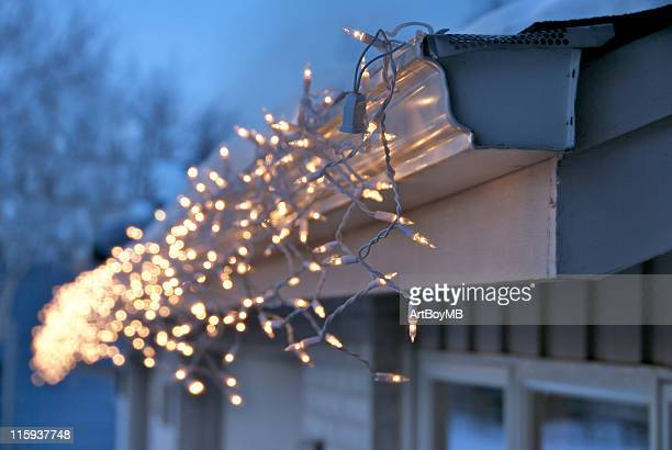 christmas lights - christmas lights stock pictures, royalty-free photos & images