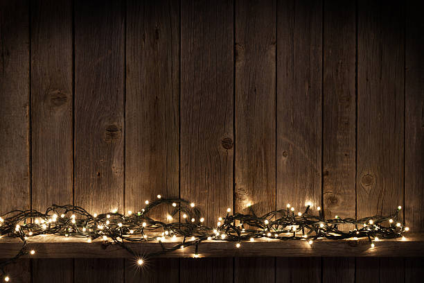 Elegant Background For Holidays Christmas Lights