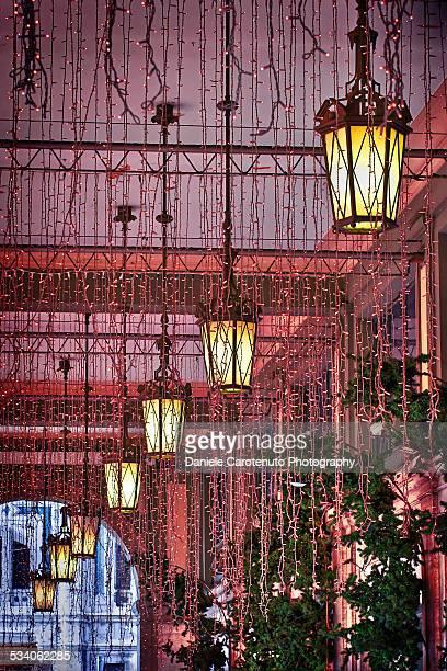 christmas lights - daniele carotenuto 個照片及圖片檔