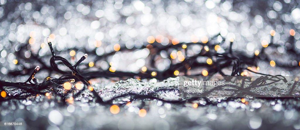 Christmas lights : Stock Photo