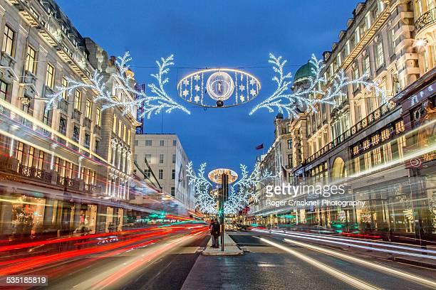 Christmas lights, Regent Street, London