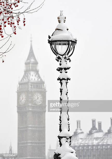 Christmas London icicles
