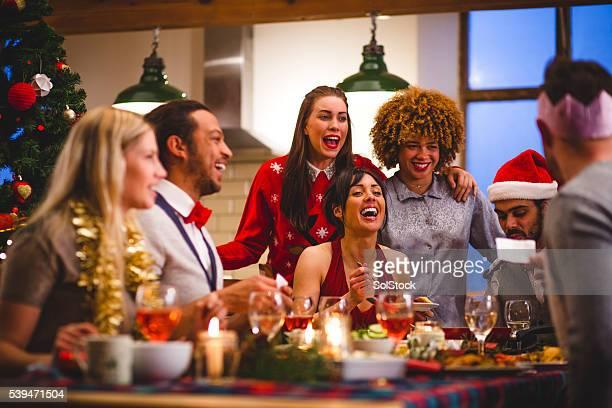 Pranzo di Natale con gli amici