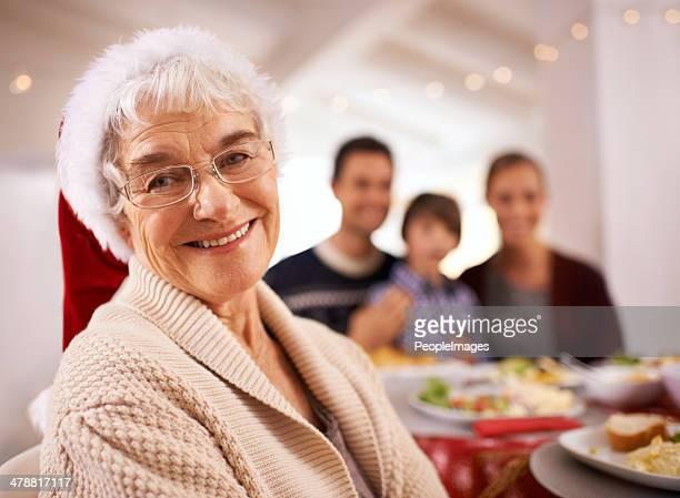 Natal almoço com a família