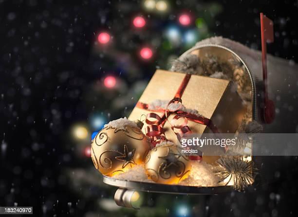 Weihnachten-Briefkasten
