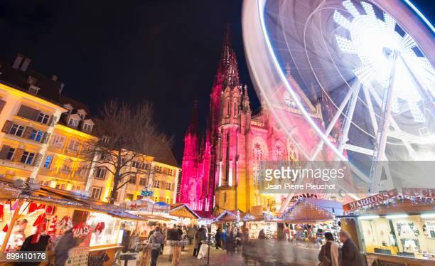 christmas market 6 mulhouse france - ミュールーズ ストックフォトと画像