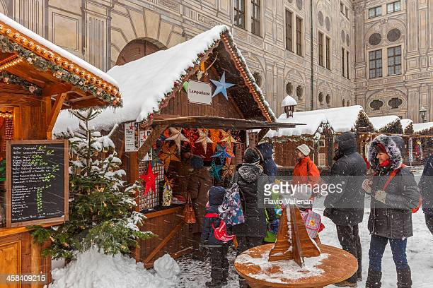 Christmas Market at the Residenz, Munich