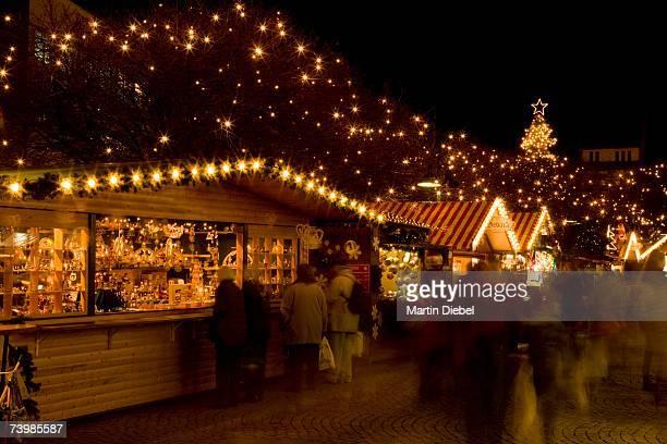 christmas market, berlin, germany - mercado natalino - fotografias e filmes do acervo