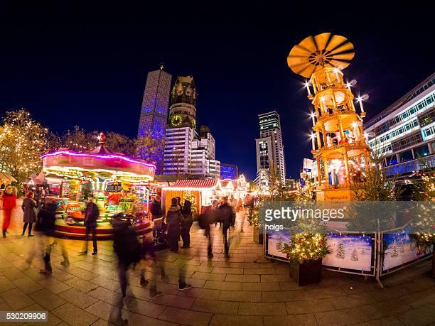Weihnachtsmarkt in Berlin, Deutschland