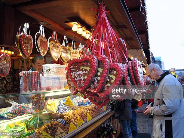 christmas market in berlin spandau (germany) - spandau stock pictures, royalty-free photos & images