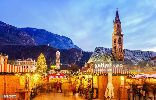 Christmas market in Bozen, South Tyrol