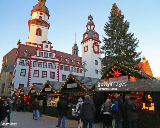 Christmas Market in Chemnitz, Germany