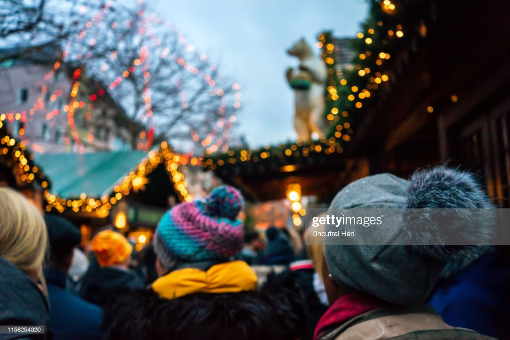 Christmas market in Cologne : Stock Photo