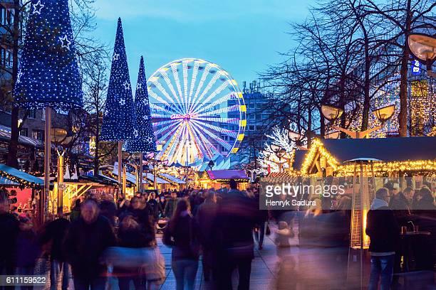 Christmas market in Duisburg