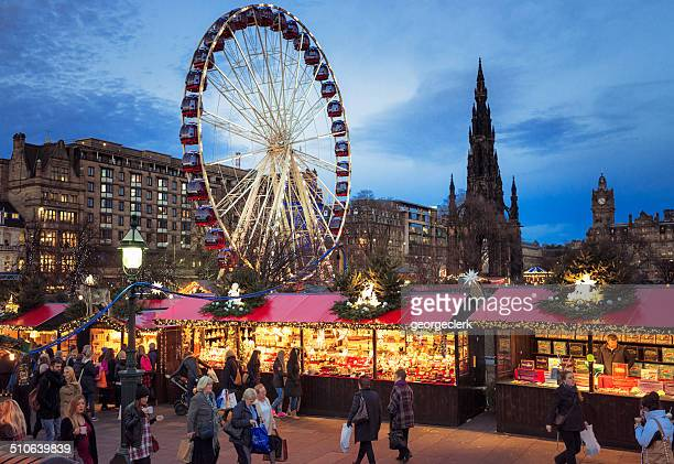 Mercatino di Natale a Edimburgo, Scozia