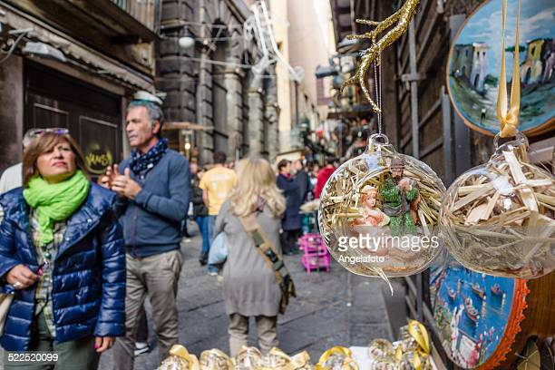 Christmas Market in Naples, Italy