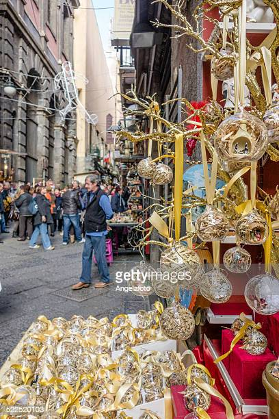 christmas market in naples, italy - merry christmas in armenian stock photos and pictures