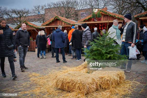 Christmas market in Odense city