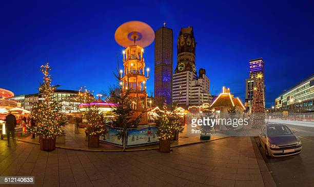 Christmas Market in the city center of Berlin