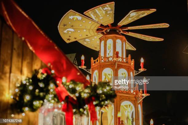 Christmas Market in the Northern Bavarian town of Ansbach