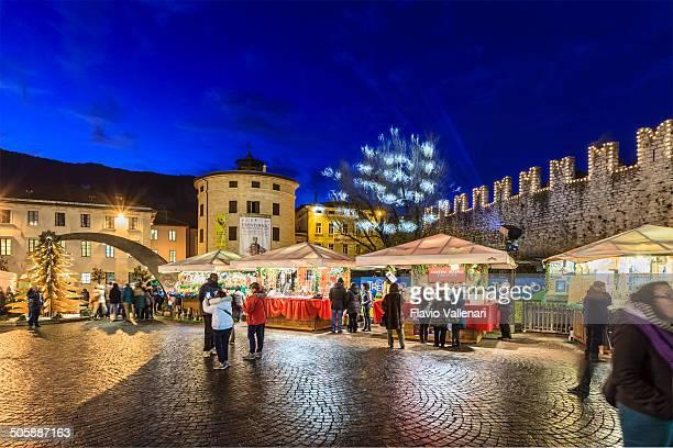 Weihnachtsmarkt in Trento, Italien