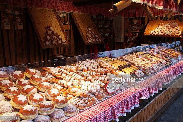 christkindlmarkt in vienna, austria - christmas market stock pictures, royalty-free photos & images